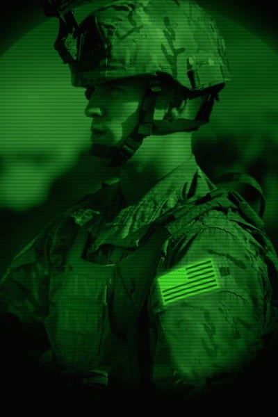 contact us: NVG soldier